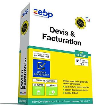 EBP Devis et Facturation Classic (Nouvelle Version) Logiciel de Devis et Facturation (Français, WINDOWS)