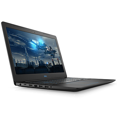 "Dell G3 15 3579 (3579-4206) Intel Core i7-8750H 8 Go SSD 128 Go + HDD 1 To 15.6"" LED Full HD NVIDIA GeForce GTX 1050 Ti 4 Go Wi-Fi AC/Bluetooth Webcam Windows 10 Famille 64 bits"