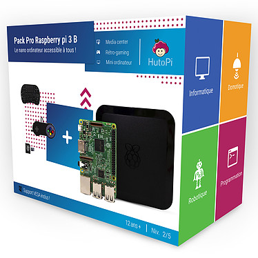 Hutopi Pack Pro Raspberry Pi 3B