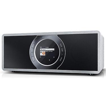 Sharp DR-I470 Gris Radio-réveil stéréo 2x 7 Watts - FM/DAB+/RDS - Radio Internet - Wi-Fi/Bluetooth - AUX