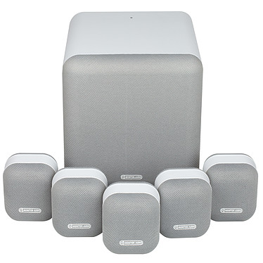 Monitor Audio MASS 5.1 Blanc