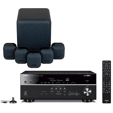 Yamaha RX-V685 Noir + Monitor Audio MASS 5.1 Noir