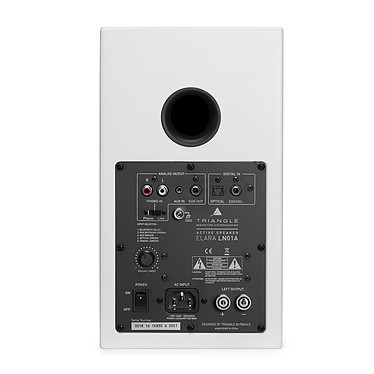 Audio-Technica AT-LP60XBT Blanc + Triangle Elara LN01A Blanc mat pas cher