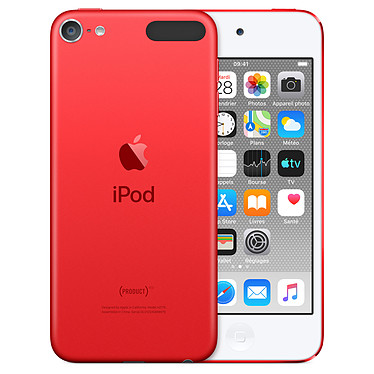 "Apple iPod touch (2019) 128 GB (PRODUCT)RED Reproductor MP4 - Chip A10 - Pantalla Retina 4"" 1136 x 640 píxeles - 128 GB - Wi-Fi AC/Bluetooth 4.1 - iOS 12"