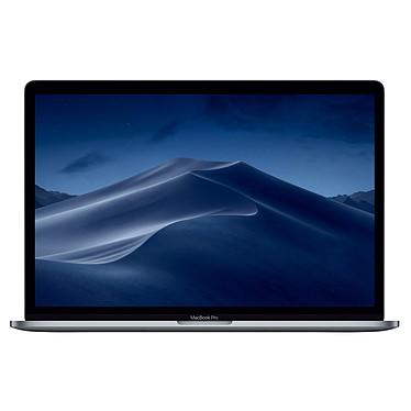 "Apple MacBook Pro (2019) 15"" avec Touch Bar Gris sidéral (MV902FN/A) Intel Core i7 (2.6 GHz) 16 Go SSD 256 Go 15.4"" LED AMD Radeon Pro 555X 4 Go Wi-Fi AC/Bluetooth Webcam Mac OS Mojave"