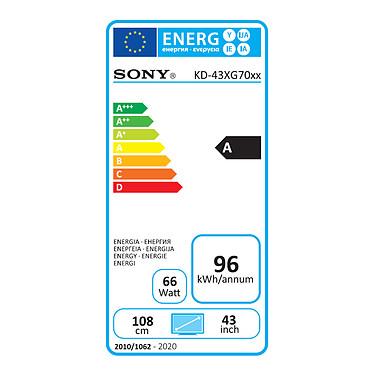 Sony KD-43XG7005 pas cher
