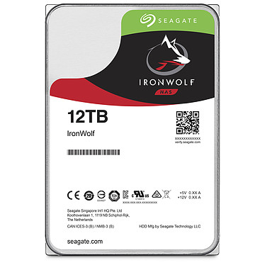 Acheter Seagate IronWolf 12 To · Occasion