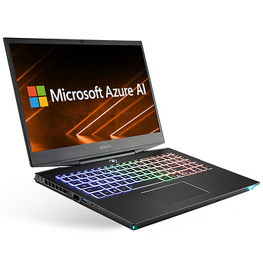 "AORUS 15-WA-7FR0252W Intel Core i7-9750H 16 Go SSD 512 Go + HDD 2 To 15.6"" LED Full HD 144 Hz NVIDIA GeForce RTX 2060 6 Go Wi-Fi AC/Bluetooth Webcam Windows 10 Famille 64 bits"