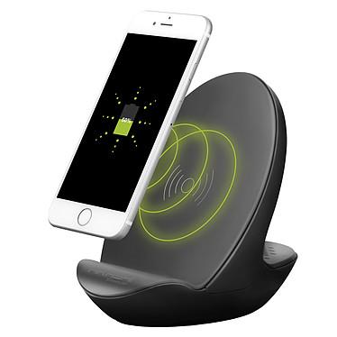 Akashi Station de charge sans fil + Enceinte Station de charge sans fil avec haut-parleur Bluetooth intégré