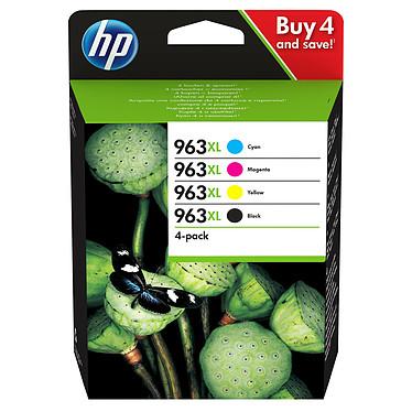 HP 963XL Pack (3YP35AE) Pack de 4 cartouches d'encre haute capacité - Cyan/Magenta/Jaune/Noir