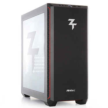 PC10 ZT Ambitieux Intel Core i5-9400F (2.9 GHz / 4.1 GHz) 8 Go SSD NVMe 240 Go + HDD 2 To NVIDIA GeForce GTX 1660 SUPER 6 Go Windows 10 Famille 64 bits