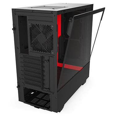 Acheter NZXT H510 Noir/Rouge