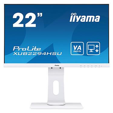 "iiyama 21.5"" LED - ProLite XUB2294HSU-W1 1920 x 1080 pixels - 4 ms - Format large 16/9 - Blanc"