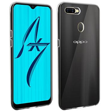 Akashi Coque TPU Transparente OPPO AX7 Coque de protection transparente pour OPPO AX7