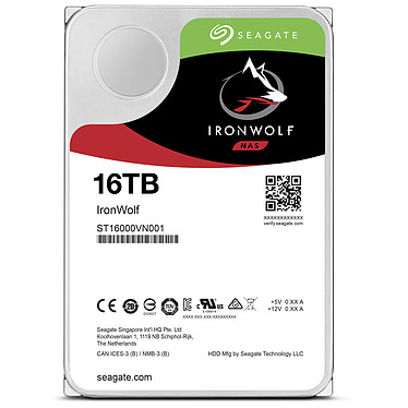 Acheter Seagate IronWolf 16 To (ST16000VN001)