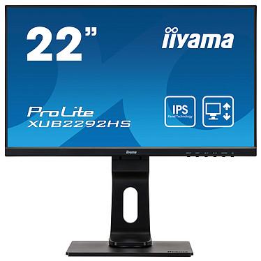 "iiyama 21.5"" LED - ProLite XUB2292HS-B1 1920 x 1080 pixels - 4 ms - Format large 16/9 - Noir"