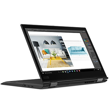 "Lenovo ThinkPad X1 Yoga G3 (20LD002HFR) Intel Core i5-8250U 8 Go SSD 256 Go 14"" LED QHD Tactile Wi-Fi AC/Bluetooth/4G/NFC Webcam Windows 10 Professionnel 64 bits"
