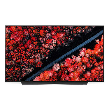 "LG OLED55C9 Téléviseur OLED 4K Ultra HD 55"" (140 cm) 16/9 - 3840 x 2160 pixels - HDR - Wi-Fi - Bluetooth - AirPlay 2 - Dolby Atmos - Son 2.1 40W (dalle native 100 Hz)"