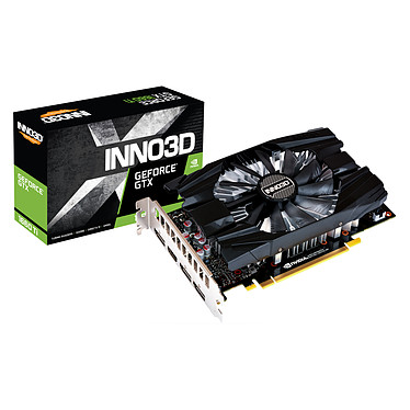 INNO3D GeForce GTX 1660 Ti  COMPACT 6 Go GDDR6 - HDMI/Tri DisplayPort - PCI Express (NVIDIA GeForce GTX 1660 Ti)