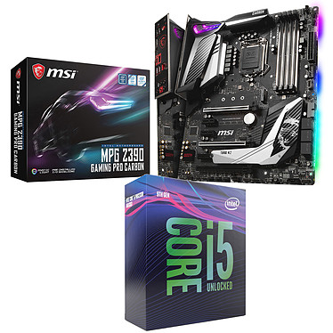 Kit Upgrade PC Core i5K MSI MPG Z390 GAMING PRO CARBON