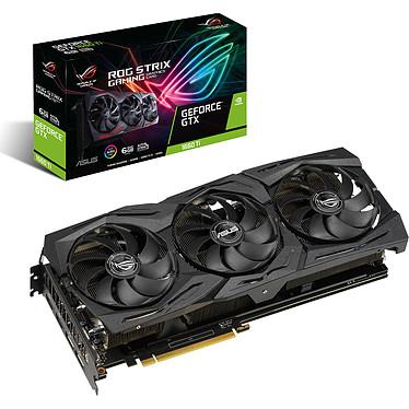 ASUS GeForce GTX 1660 Ti ROG-STRIX-GTX1660TI-6G-GAMING 6 Go GDDR6 - Dual HDMI/Dual DisplayPort - PCI Express (NVIDIA GeForce GTX 1660 Ti)