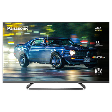 "Panasonic TX-50GX830E Téléviseur LED Ultra HD 50"" (127 cm) 16/9 - 3840 x 2160 pixels - Ultra HD - HDR - Wi-Fi - DLNA - Bluetooth - 1800 Hz"