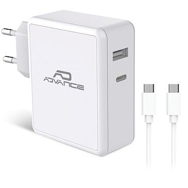 Advance PowerFlex Chargeur mural USB-C et USB-A 45W (Blanc)