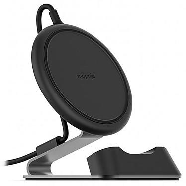 Mophie Chargestream Desk Stand Noir Support de bureau avec socle de chargement pour smartphones certifiés Qi