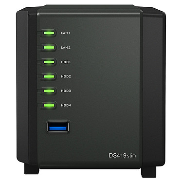 Avis Synology DiskStation DS419slim