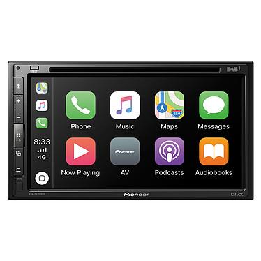 "Pioneer AVH-Z5200DAB Lecteur multimédia 2-DIN - CD/DVD/FM/USB - 4 x 50 Watts - Ecran tactile 6.8"" - Bluetooth 4.1 - Apple CarPlay / Android Auto"