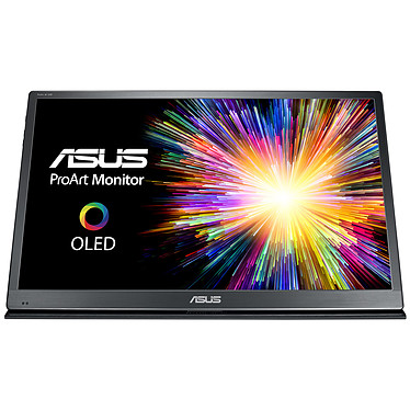 """ASUS 22"""" OLED RGB - ProArt PQ22UC 3840 x 2160 píxeles - 0,1 ms (gris a gris) - Formato ancho 16/9 - Panel OLED - HDR - Micro HDMI / USB Type-C x2 - Plata/Negro"""