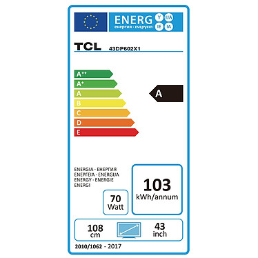 Acheter TCL 43DP602