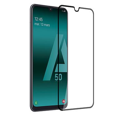 Akashi Film Verre Trempé 2.5D Galaxy A50 Film de protection intégral 2.5D en verre trempé pour Samsung Galaxy A50