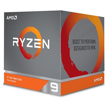 AMD Ryzen 9 3900X Wraith Prism LED RGB (3.8 GHz / 4.6 GHz) Processeur 12-Core socket AM4 GameCache 70 Mo 7 nm TDP 105W avec système de refroidissement (version boîte - garantie constructeur 3 ans)