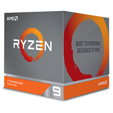 AMD Ryzen 9 3950X (3.5 GHz / 4.7 GHz) Processeur 16-Core 32-Threads socket AM4 GameCache 70 Mo 7 nm TDP 105W (version boîte sans ventilateur- garantie constructeur 3 ans)
