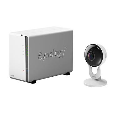 Synology DiskStation DS218j + D-Link DCS-3000LH