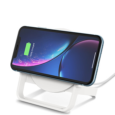 Belkin Chargeur à induction 10 W Stand (Blanc) pas cher