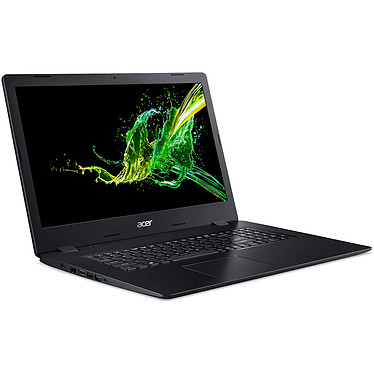 "Acer Aspire 3 A317-51G-72E5 Intel Core i7-10510U 8 Go SSD 256 Go + HDD 1 To 17.3"" LED Full HD NVIDIA GeForce MX250 Graveur DVD Wi-Fi AC/Bluetooth Webcam Windows 10 Professionnel 64 bits"