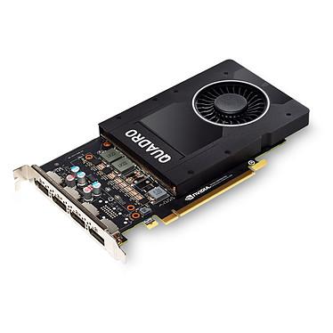 PNY Quadro P2200 5 Go GDDR5x - Quad DisplayPort - PCI Express 3.0 x16 + 1 adaptateur vers DVI-I SL