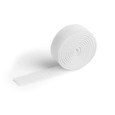 Durable Cavoline Grip 20 Blanc Ruban auto-agrippant pour câbles - 100 x 2 cm