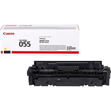 Canon 055 Jaune Toner Jaune (rendement jusqu'à 2100 pages)