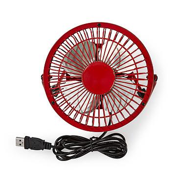Acheter Nedis Mini-Fan (Rouge)
