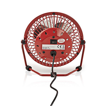 Avis Nedis Mini-Fan (Rouge)