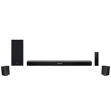 LG SK5R Barre de son 4.1 480 W - DTS Virtual:X - Hi-Res Audio - Bluetooth - HDMI - Caisson de basses sans fil - Enceintes surround arrière