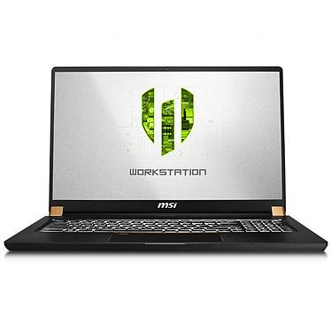 "MSI WS75 9TJ-016FR Workstation Intel Core i7-9750H 16 Go SSD 512 Go 17.3"" LED Full HD 144 Hz NVIDIA Quadro T2000 4 Go Wi-Fi AC/Bluetooth Webcam Windows 10 Professionnel 64 bits"