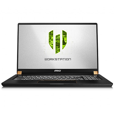 "MSI WS75 9TK-699FR Intel Core i7-9750H 16 Go SSD 512 Go 17.3"" LED Full HD NVIDIA Quadro RTX 3000 8 Go Wi-Fi AC/Bluetooth Webcam Windows 10 Professionnel 64 bits"