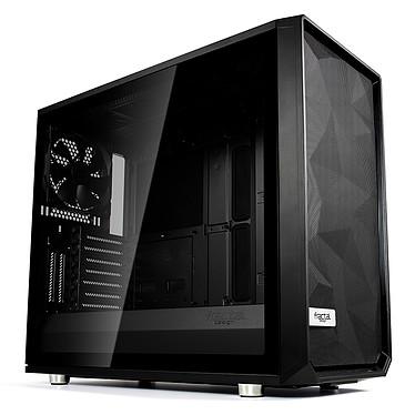 Fractal Design Meshify S2 Dark TG (Noir) Boîtier Moyen Tour Noir avec fenêtre en verre trempé