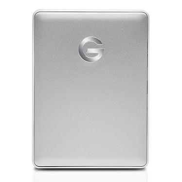"""G-Technology G-Drive Mobile USB-C 2 To Argenté Disque dur externe 2.5"""" formaté pour Mac sur port USB-C 3.1 Gen 1 (3.0) - Compatible Windows après reformatage"""