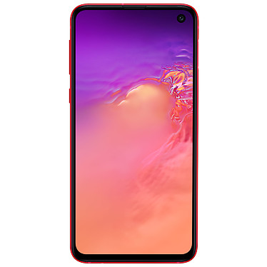 "Samsung Galaxy S10e SM-G970F Rouge (6 Go / 128 Go) Smartphone 4G-LTE Advanced Dual SIM IP68 - Exynos 9820 8-Core 2.8 GHz - RAM 6 Go - Ecran tactile Super AMOLED 5.8"" 1080 x 2280 - 128 Go - NFC/Bluetooth 5.0 - 3100 mAh - Android 9.0"