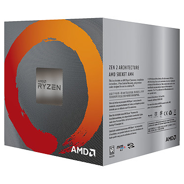 Avis AMD Ryzen 5 3600X Wraith Spire (3.8 GHz / 4.4 GHz) avec mise à jour BIOS